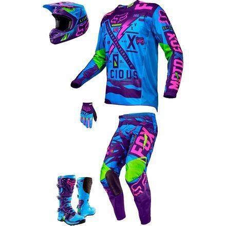 neon motocross gear fox racing 2016 vicious se combo moto related