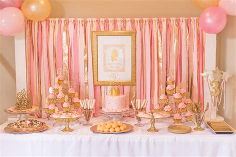 beach her colors were pink lots of pink with her love of the beach pink and gold princess 3rd birthday party pizzazzerie