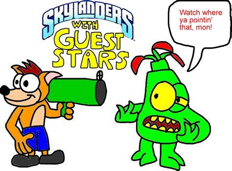 Kaos I Am Groot 1 skylanders with guest by blackrhinoranger on