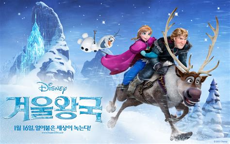 wallpaper frozen sven frozen korean wallpapers olaf and sven wallpaper