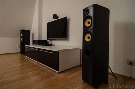wohnzimmer hifi anlage wohnzimmer mit lautsprechern 2 lautsprechern psb t5