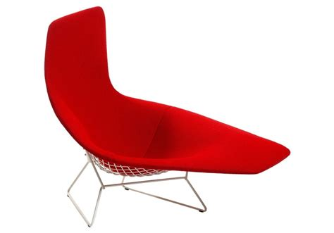 Bertoia Armchair by Bertoia Asymmetric Armchair Fully Upholstered Knoll