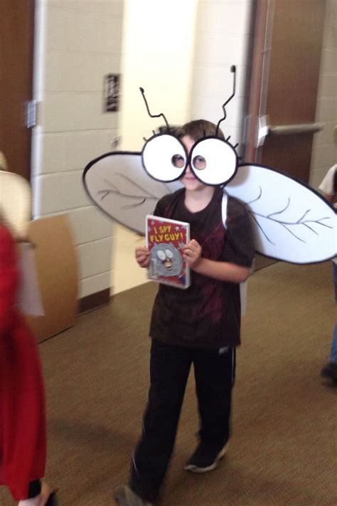 ideas guy fly guy costume book character costume idea pinterest