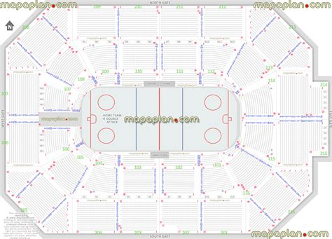 allstate arena seating chart allstate arena chicago wolves ahl hockey arena