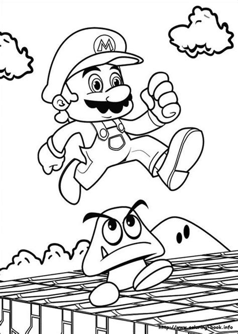 online coloring pages mario bros top 20 free printable super mario coloring pages online