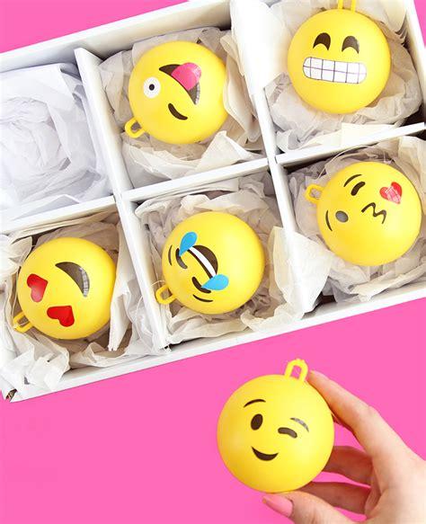 big ornament big emoji ornaments a subtle revelry