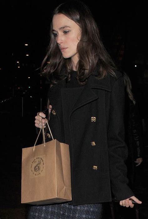 Keira Knightley Is Desperate For A by Keira Knightley Looks Exhausted As She Arrives Back In
