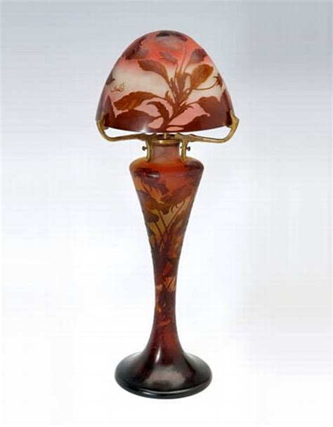 galle glass l shade a galle cameo glass l the connoisseur s