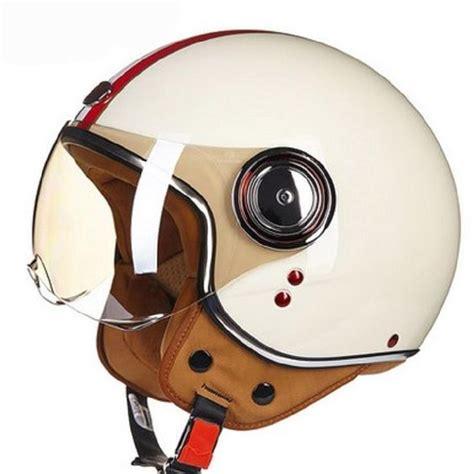 vespa helmet motorcycle scooter vintage retro open face