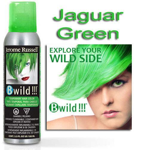 jerome russell b wild color spray folica hair care jerome russell b wild temporary hair color spray jaguar