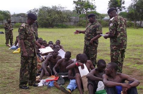 Joining Foreign Legion Criminal Record July 2014 Kenya Army