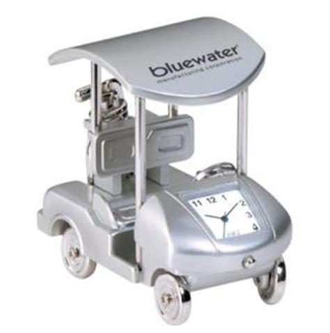 Golf Desk Clock by Custom Printed Golf Cart Mini Desk Clock