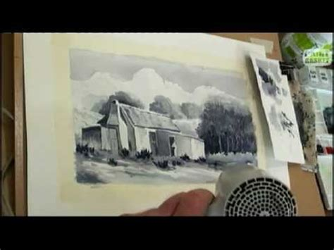 youtube watercolor tutorials how to paint a landscape in watercolour painting lessons