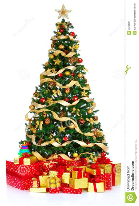 christmas tree stock photo image of decoration year