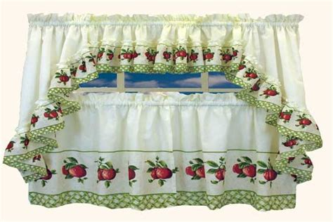 apple kitchen curtains apples curtain kitchen curtain design