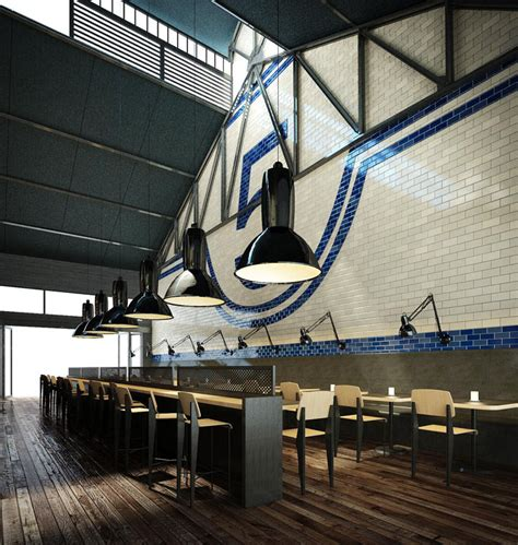 Shed Restaurant by Shed 5 Restaurant By Loop Creative Melbourne 187 Retail