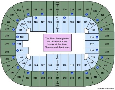 greensboro coliseum floor plan cheap greensboro coliseum tickets