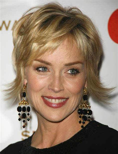 pics of sharon stones hair cut only print out front and back sharon stone haircut 2014 haircuts models ideas