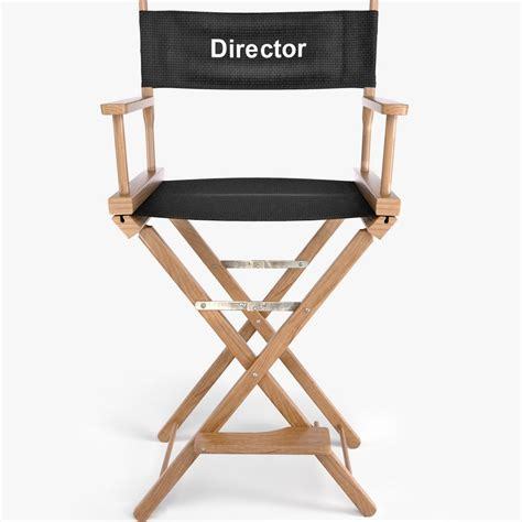Director Chair by 3ds Max Wooden Chair