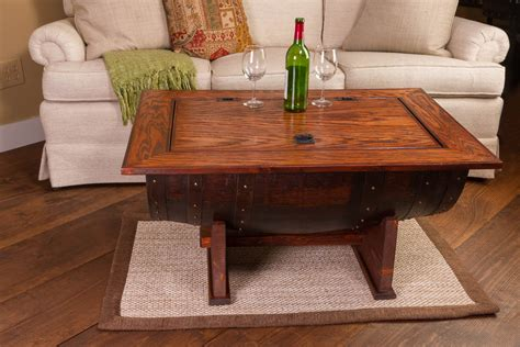 Barrell Coffee Table Wooden Barrel Coffee Table Furniture Roy Home Design