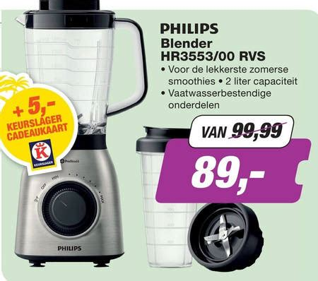 Blender Merk Avent philips blender folder aanbieding bij ep electronic