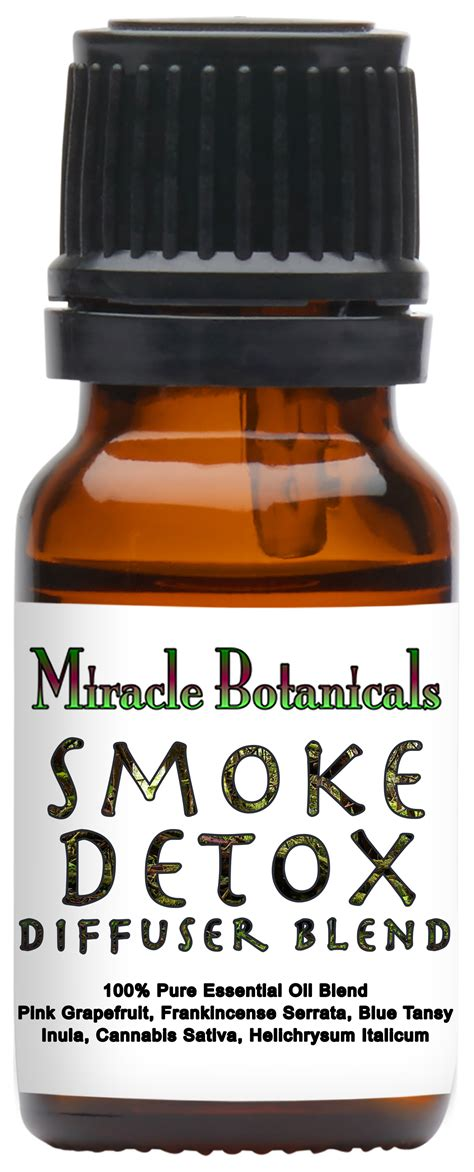 Essential Oils Thc Detox by Smoke Detox Essential Blend 100 Therapeutic Grade