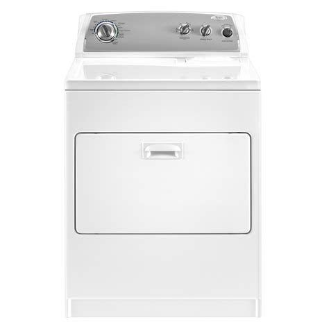 Automatic Dryer whirlpool electric dryer 7 cu ft wed4900xw sears