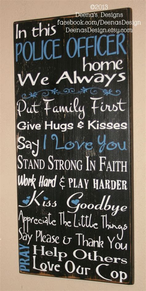 police officer home decor 35 best images about law enforcement life on pinterest