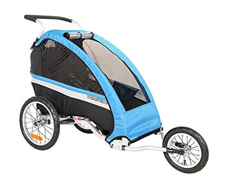 unisex car seats and strollers weeride unisex classic trailer jogger stroller blue