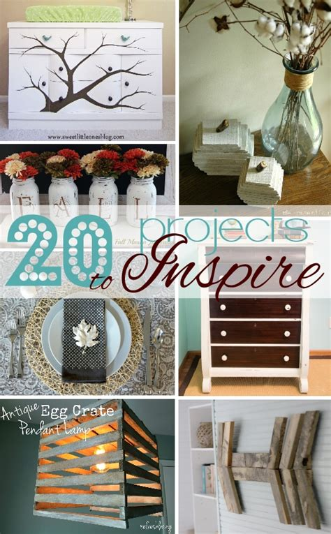 diy projects for home decor pinterest 20 pinterest inspired projects house by hoff