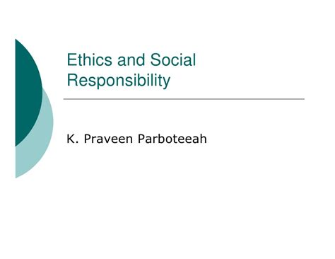 Business Ethics And Corporate Social Responsibility Mba Notes by Managing Ethics And Social Responsibility
