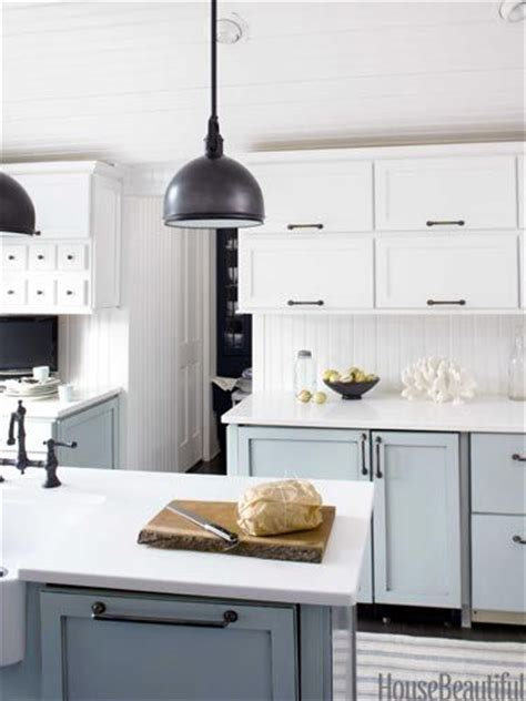 blue galley kitchen cottage kitchen arent pyke blue and white farmhouse kitchen quicua com