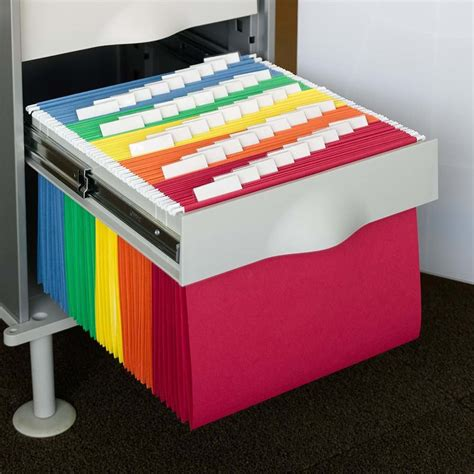 Review Of Smead Hanging File Folders 1 5 Cut Tab Letter Size Suspension Folders For Filing Cabinets