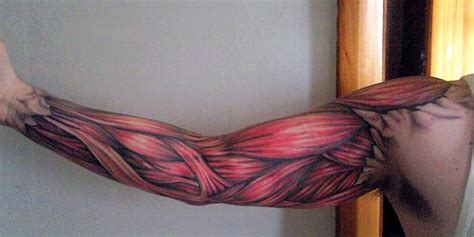 Muscle Tattoo Design For Full | 60 unique muscle tattoos