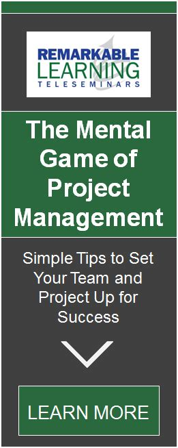 managing the mental game 0990670341 the mental game of project management simple tips to set your team and project up for success