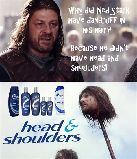 Ned Stark Meme - eddard stark head and shoulders know your meme