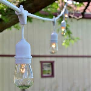 Patio Light Strands White Outdoor String Lights 48 Oogalights Pro Series Hd