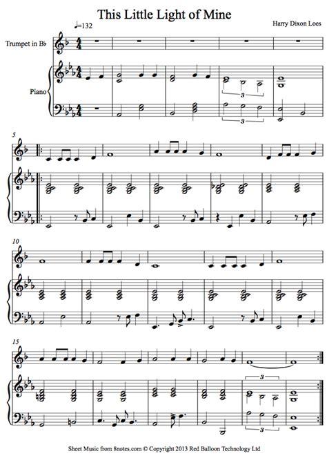 this little light of mine sheet music free download harry dixon loes this little light of mine sheet music