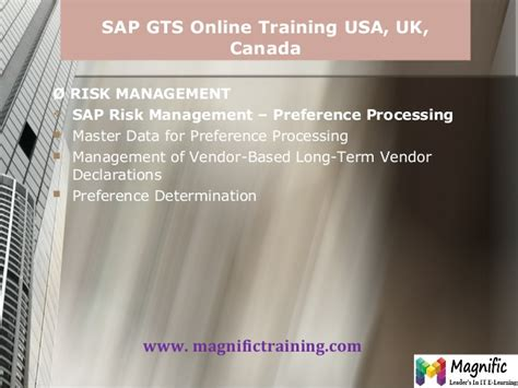 Online Tutorial In Usa | sap gts online training usa uk and canada