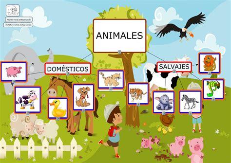 imagenes de animales salvajes y domesticos ya estoy en primero los seres vivos