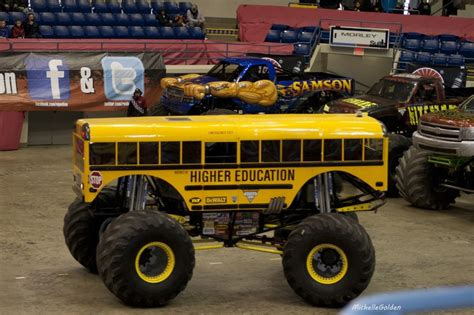 monster truck bus videos higher education monster truck monster trucks