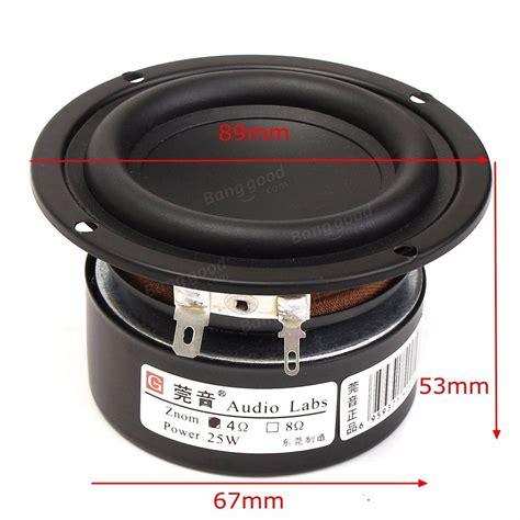 Speaker Subwoofer 3 Inch 3inch 4ohm 25w range audio speaker stereo woofer
