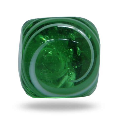 Green Glass Door Knobs by Unique Jairo Green Glass Door Knob With White Swirl