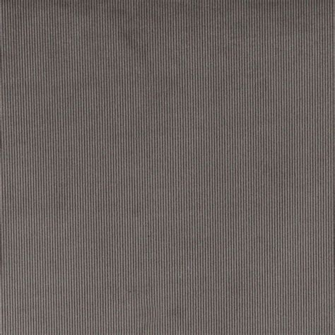 grey corduroy thin stripe upholstery velvet fabric by the