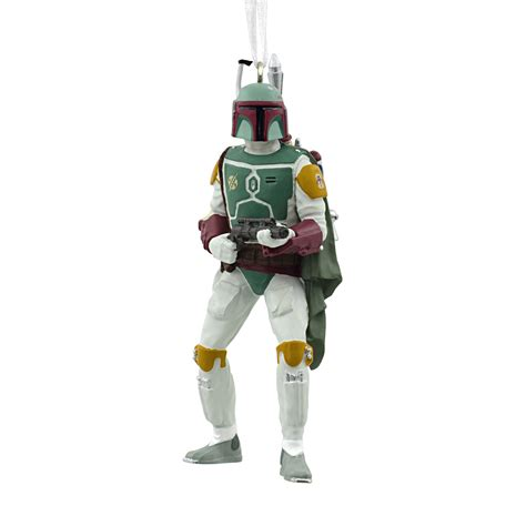 hallmark star wars boba fett ornament