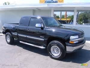 2000 Chevrolet Z71 2000 Onyx Black Chevrolet Silverado 1500 Z71 Extended Cab