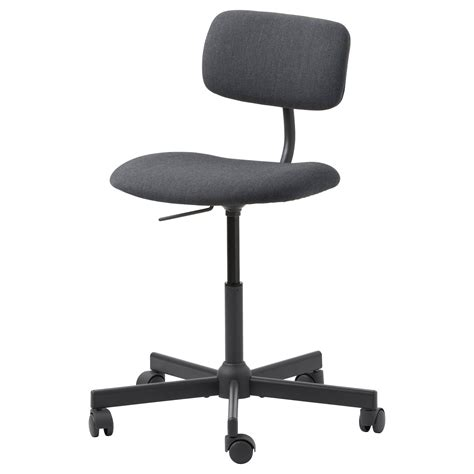 Bleckberget Swivel Chair Idekulla Dark Grey Ikea Ikea Swivel Chair
