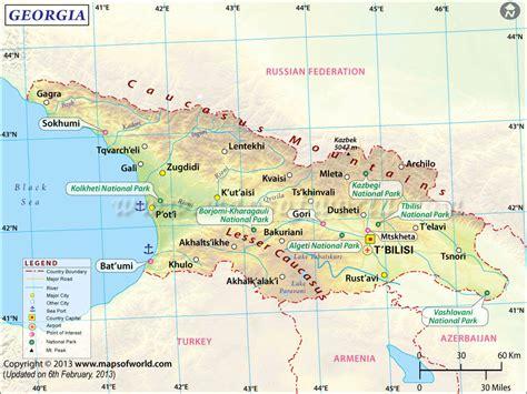 map of uga map