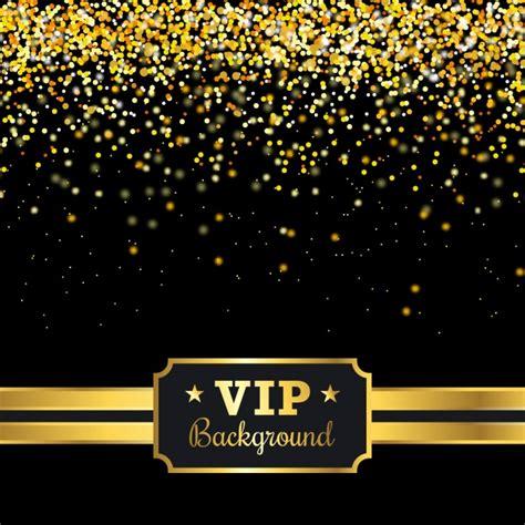 imagenes vip gratis fondo vip con confeti dorado descargar vectores gratis