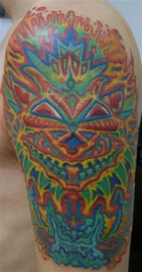 psychedelic tattoo trippy tattoos for psychedelic personalities 171